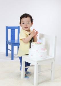 1歳お誕生日記念のお写真 豊島区よりご来店ありがとうございます