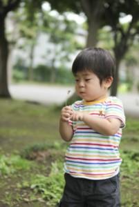 子どものニコニコ笑顔を撮る 初夏のキラキラ笑顔くん3歳!