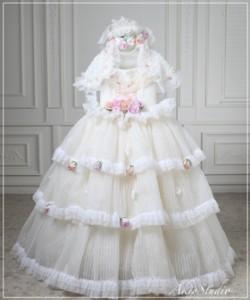 7歳の七五三記念に 女の子のお衣装 ドレス | 東京 練馬区の写真スタジオ/写真館