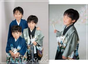 【七五三5歳】写真・お客さまの声 3兄弟で楽しく撮影できました。