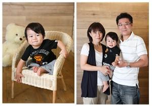 パパママ大好き 1歳バースデー撮影 練馬区東大泉より T様