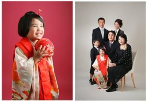 赤が似合う七五三3歳さん 練馬区石神井台よりご来店ありがとうございます