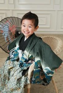 3歳男の子七五三&1歳バースデー撮影 練馬区石神井台よりご来店ありがとうございます