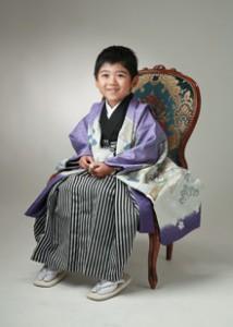 りりしく、かわいく・・・ 七五三5歳 練馬区関町よりご来店ありがとうございます