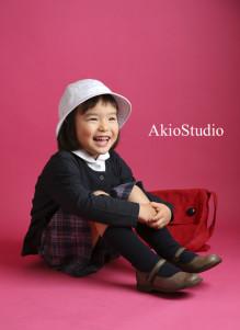 入園記念 アキオスタジオ 西東京市