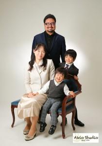 入園の記念に家族写真もステキですね♪ 石神井町よりご来店ありがとうございます!