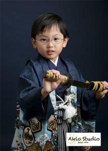 七五三祝い 5歳 東大泉よりご来店ありがとうございます