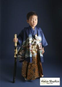 オトコマエな七五三 5歳 石神井台よりご来店ありがとうございます