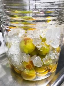 梅ジュースを作ります♪(2)