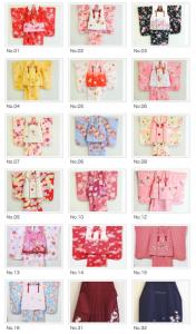 七五三 3歳のお衣装(着物編) 東京練馬の写真スタジオです