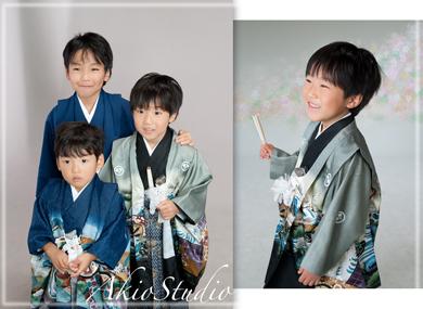 $七五三なら東京練馬の写真館アキオスタジオ|お宮参り・成人式の記念写真|石神井フォトスタジオ