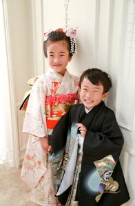 また家族の思い出作りに… 七五三5歳7歳 西東京市よりご来店ありがとうございます