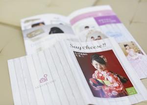 七五三小冊子 Saycheese 2014 がもうすぐ出来上がります