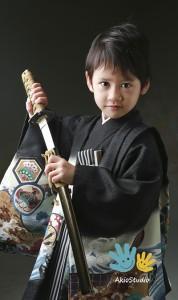 戦隊大好き少年!きまったね! 七五三5歳 練馬区東大泉よりご来店ありがとうございました