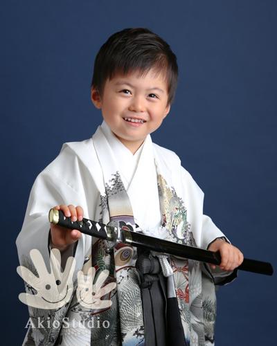七五三 5歳(アキオスタジオ)