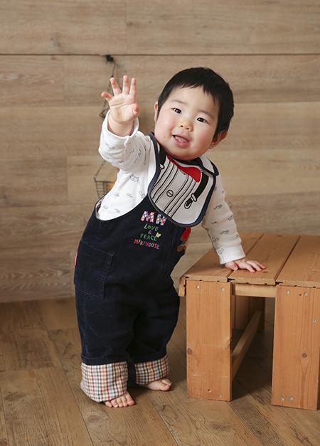 1歳お誕生日(練馬スタジオ撮影)