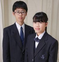 兄妹で入学記念!